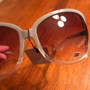Women's DG Beige Sunglasses
